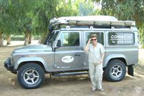Land Rover Defender at Desert Storm 2007, Morocco